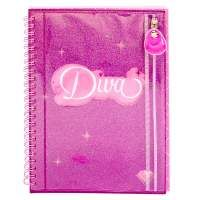 Divas, Notebook, Glitter, Pink, Disney, Luxury Pens, Everything Pink, Special Gifts, Best Gifts