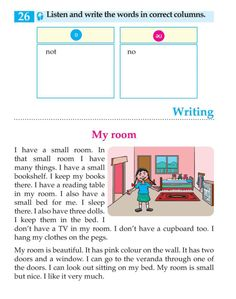 English Lesson Grade 3 We And Our Things English Grammar For Kids, English Phonics, Learning English For Kids, Teaching English Grammar, English Worksheets For Kids, English Lessons For Kids, Kids English, English Writing Skills, English Reading