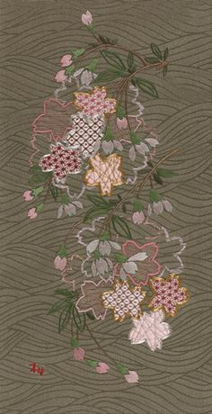 Japanese Embroidery.
