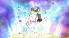 fairy+tail+gemini+lucy | Lucy et Gémini invoque Urano Metria