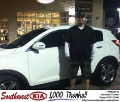 #HappyBirthday to Jason Campbell from Don  Weintraub at Southwest KIA Rockwall!