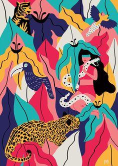 AYAHUASCA DIVINATION by MICHELA PICCHI, via Behance
