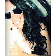 Dark brown hair! Summertime! Puppy Love!