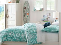 High School Girl Bedroom Ideas On Pinterest Bedding Tie