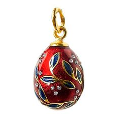 Inspiration Egg Pendant Red, £56, now featured on Fab.