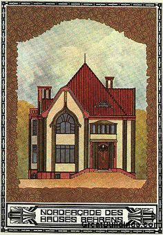 Behrens House by Peter Behrens in Darmstadt, Germany 1901