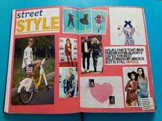 #planner #journal #happiness #positive #streetstyle #outfits #zendaya #kyliejenner #kendalljenner #pink #blue | Pinterest: Doris