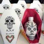 Having fun with package designs for Kah Tequila mini bottles