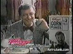 Don Knotts Old Kellogg's Cereal Commercial