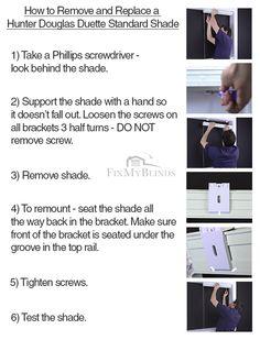 19 Best Blind Repair Instructions Images In 2012 Blind Repair