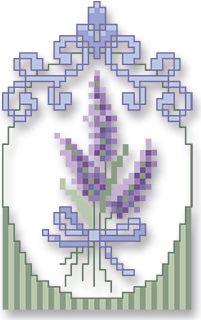 à broder : Lavande de Provence