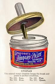 Just seeing this brings up the memory of the crusty paste it made.  Early scrapbooking.