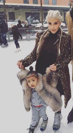Nori in the snow