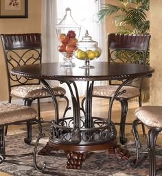 Ashley Furniture Formal Dining Sets amazing dark wood dining tables and chairs dark wood dining table