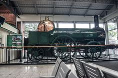 Old Steam Engine - Kent Railway Station (Cork City) [The Streets Of Ireland]