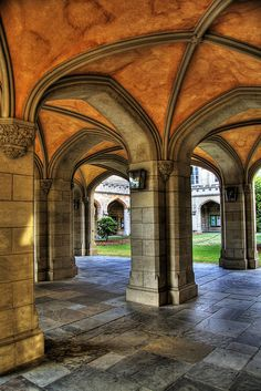 The University of Melbourne- Old Quadrangle.