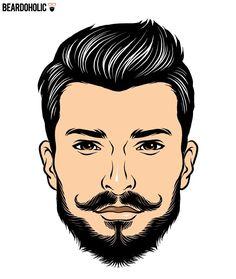 The Longer Chin Curtain Beard In Short Beard Styles
