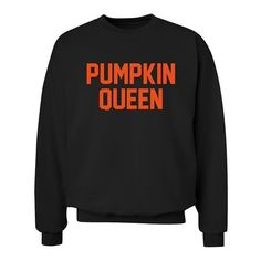 Pumpkin Queen sweatshirt XS - 3XL sweater: Amazon.co.uk: Clothing ($35) ❤ liked on Polyvore featuring tops, hoodies, sweatshirts, women tops, sweatshirts hoodies, sweat tops and henley sweatshirt