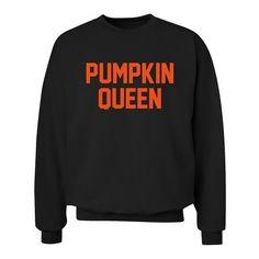 Pumpkin Queen sweatshirt XS - 3XL sweater: Amazon.co.uk: Clothing ($35) ❤ liked on Polyvore featuring tops, hoodies, sweatshirts, women tops, sweatshirts hoodies, sweat tops and henley sweatshirt