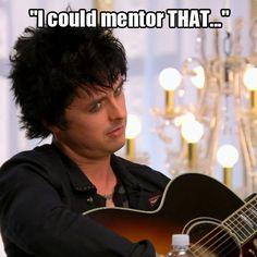 Advisor Billie Joe Armstrong on #TheVoice
