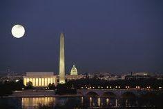 Washington D. C. at night!