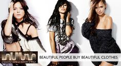 Beautiful people buy beautiful clothes