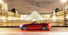 The Mercedes-Benz SL 63 AMG in front of the world famous Louvre in Paris, France. Have you ever been there? photo by @marioroman_pictures for @fanaticar_magazin. #mbfanphoto #mercedes #mercedesbenz #mercedesamg #sl63amg #roadster #convertible #power #insane #louvre #paris #france #roadtrip #museum #wet #lights #amg #carporn #love #red #sightseeing #tourist