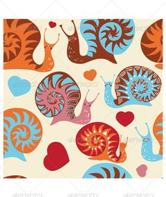 VECTOR DOWNLOAD (.ai, .psd) :: https://sourcecodes.pro/article-itmid-1006525789i.html ... Snail Pattern ...  background, colorful, cute, funny, heart, kids pattern, love, pattern, smile, snail, textile, wallpaper  ... Vectors Graphics Design Illustration Isolated Vector Templates Textures Stock Business Realistic eCommerce Wordpress Infographics Element Print Webdesign ... DOWNLOAD :: https://sourcecodes.pro/article-itmid-1006525789i.html