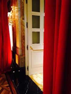looking forward to tonights red carpet moments - and beyond to the RED CURTAIN moments :) Red Curtains, Vienna, Red Carpet, In This Moment, History, Home Decor, Homemade Home Decor, Red Blinds, History Books