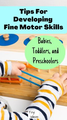 Educational Activities For Toddlers, Preschool Toys, Toddler Preschool, Learning Resources, Fine Motor Skills Development, Child Development, Occupational Therapy Schools, Special Needs Toys, Time Kids