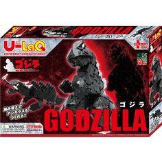 U-LaQ Edutainment Character Block Godzilla http://www.amazon.com/Urara-cube-U-LaQ-Godzilla/dp/B00KS0S54U/ref=sr_1_1?s=toys-and-games&ie=UTF8&qid=1446422675&sr=1-1&keywords=U-LaQ+Godzilla