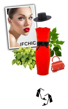 """Ifchic"" by ruza-b-s ❤ liked on Polyvore featuring McQ by Alexander McQueen, Carven, Dee Keller, dress, ifchic and springdresscode"