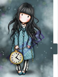 Gorjuss Girls OBSESSED!!!!  LOVE LOVE LOVE!Gorjuss Girls Planner Dividers A5 Size Set 2 by RemanDesignStudio