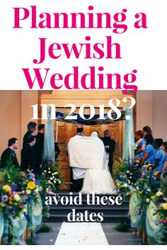 Planning a Jewish Wedding in Avoid these dates before you sign any contracts. Jewish Wedding Ceremony, Wedding Chuppah, Jewish Weddings, Unique Weddings, Jewish Wedding Invitations, Bat Mitzvah, Wedding Centerpieces, Party Planning, Dates