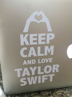 Taylor Swift Car Decal
