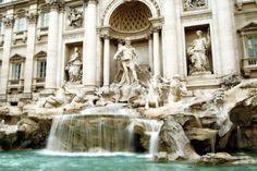 Rom - Vi boede 2 meter fra og med udsigt til denne.