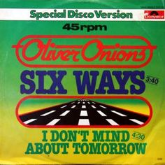 LP12 - Oliver Onions - Six Ways - Special Disco Version - Bud Spencer / Terence Hill - Datenbank