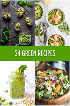 Hit Refresh With 34 Green Recipes Ideas! Paleo Vegetables, Healthy Vegetable Recipes, Paleo For Beginners, Friend Recipe, Vegetarian Paleo, Brunch Recipes, Party Recipes, Vegetable Sides, Skinny Recipes