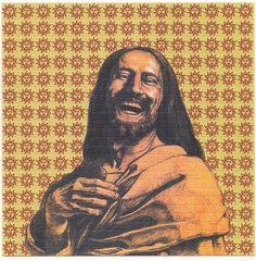 This is a Original LSD Blotter Art Sheet REMEMBER SASHA ORANGE SUNSHINE FOR CHRIST SAKES. Or Laughing Jesus .Sasha Shulgin was the person who