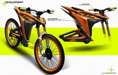 KTM - Electric Mobility - Short Project on Behance