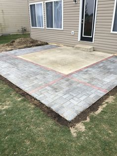 11 awesome diy concrete slab images | Cement, Concrete projects, Diy on brick ideas, clay slabs ideas, cement patio, patios ideas, cement slabs with color, sidewalks ideas,