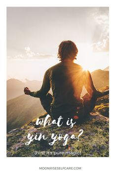 """Are you wondering """"what is yin yoga?"""" (Hint: it's PURE magic✨). Read this piece for a total break down all of the benefits of yin yoga! Yin Yoga Benefits, Yin Poses, Yin Yoga Sequence, Art Of Letting Go, Home Yoga Practice, Yoga Bolster, Yoga Pictures, Yoga Block, Beach Yoga"""