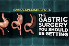 The Gastric Surgery You Should Be Getting: This surgery could help you lose weight, prevent cancer, heart disease and even reverse your diabetes. Find out if this...