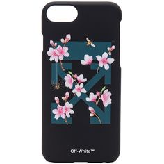 OFF-WHITE Cherry Flowers iPhone 7 Case (€59) ❤ liked on Polyvore featuring accessories and tech accessories
