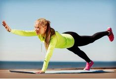 5 Planks To Sculpt Your Core For Summer Core Exercises For Beginners, Beginner Workouts, Workout For Beginners, Best Core Workouts, Ballet Body, Pilates Moves, Daily Burn, Core Muscles, Exercise For Kids