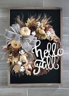 21 Must-Have Wreaths for a Perfect Fall Porch - little blonde momRelated posts:Favorite Wreaths for SummerDIY Wreath & Farmhouse Sign (Free Drool-Worthy Welcome MatsCreative Ways Rustic Fall Front Porch Ideas posts:How to Hang Wall Decor Pe Diy Fall Wreath, Autumn Wreaths, Wreath Ideas, Rustic Wreaths, Fall Door Wreaths, Summer Wreath, Paper Flower Wreaths, Paper Flowers, Hydrangea Wreath