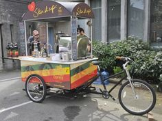 Bike Food Carts Replace Food Trucks?