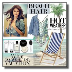 """""""Perfect Beach Hair"""" by asiyaoves ❤ liked on Polyvore featuring beauty, Bobbi Brown Cosmetics, New Look, River Island, Y/Project, Telescope Casual and beachhair"""