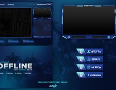 Free Twitch Overlay projects | Photos, videos, logos, illustrations and branding on Behance Display Banners, Twitch Channel, Try Harder, Packaging Design, Overlays, Behance, Branding, Graphic Design, Templates