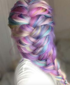 Candy Colored Plait
